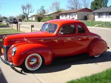 Outstanding 40 ford coupe