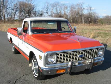 1972 Chevrolet Cheyenne 1/2 Ton Pick Up