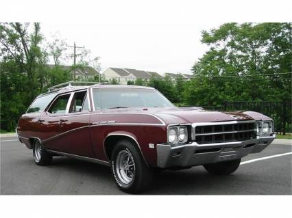 1969 Buick Sport Wagon 400 V8 Full Power 3rd Seat