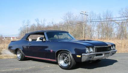 1972 Buick Skylark GS Convertible 455 Fact A/C