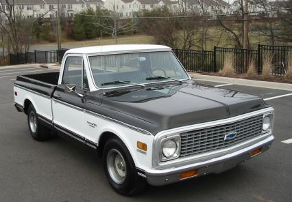 1972 Chevy C-10 Short Bed P/U 350 V8 Auto A/C