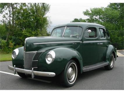 1940 Ford Deluxe Four Door Sedan Orig Flathead V8