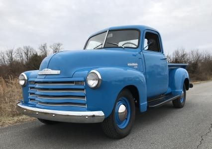 1949 Chevy 3100 Short Bed P/U Orig 6 cyl Manual