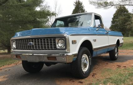 1972 Chevy Cheyenne Super K-10 4X4