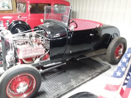 1929 FORD MODEL  A   ROADSTER--old school style