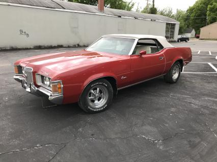 1972 MERCURY  COUGAR  XR7 CONVERTIBLE