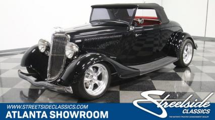 1934 Ford Roadster Rumble Seat