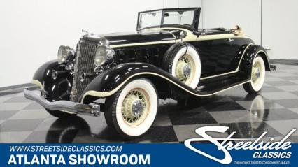 1933 Chrysler Imperial CQ Convertible