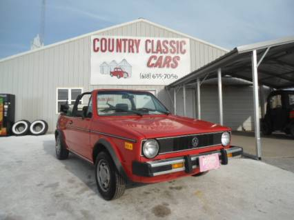 1985 VW Rabbit Cabriolet