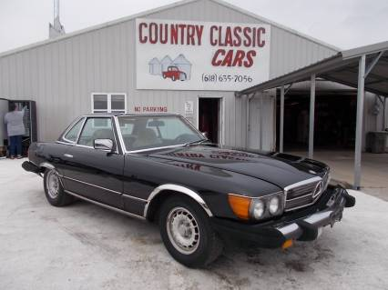 1984 Mercedes 380SL Convertible