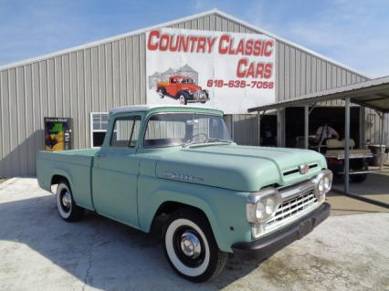 1960 Ford F100 Short Bed Styleside Pu