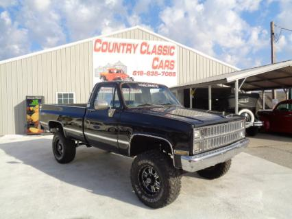 1982 Chevy K10 Silverado Long Bed