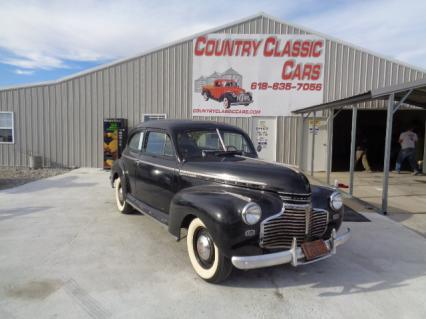 1941 Chevy Master Deluxe 2dr sedan