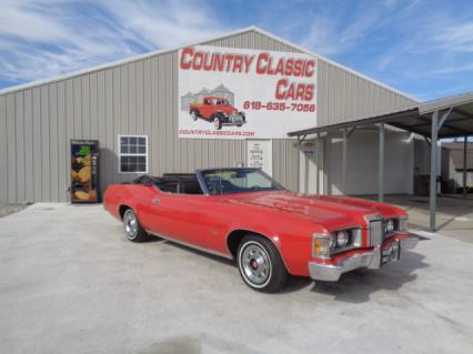 1973 Mercury Cougar XR7 conv