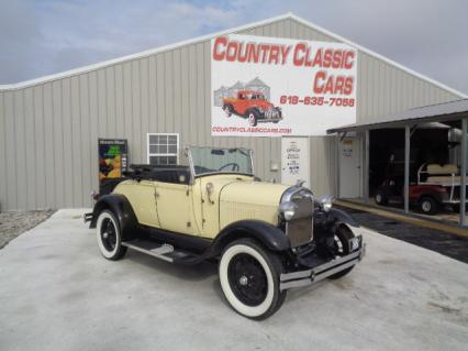 1980 RPRO Shay Model A Roadster Convertible
