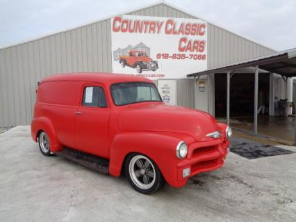 1954 Chevy panel truck street rod