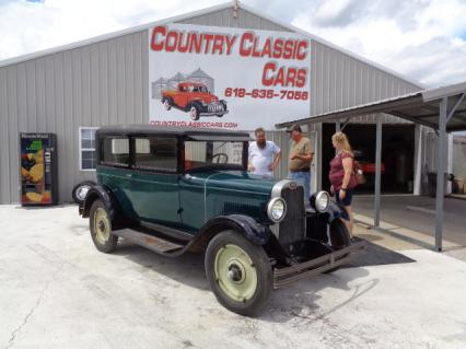 1928 Chevy 2dr Sedan