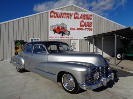 1947 Cadillac Fleetwood 4dr sedan