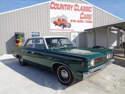 1969 AMC Rebel SST 4door Sedan