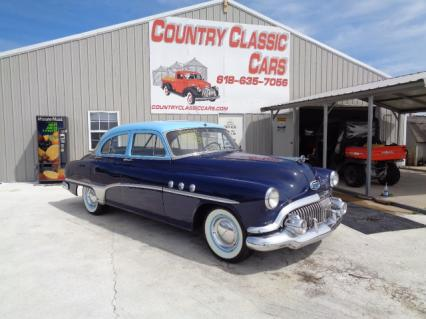 1951 Buick Series 40 special deluxe 4dr sedan