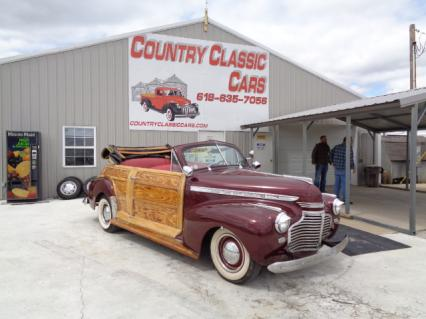 1941 Chevy Fleetmaster custom woody Conv