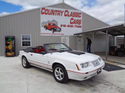 1984 Ford Mustang Conv