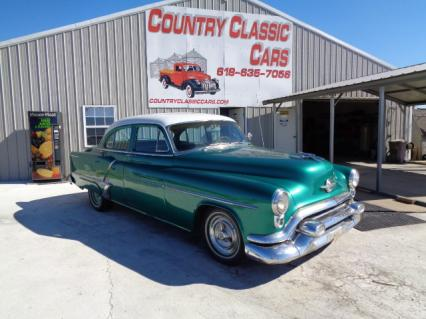 1953 Oldsmobile 88 4dr sedan