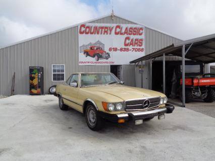 1979 Mercedes 450SL Convertible
