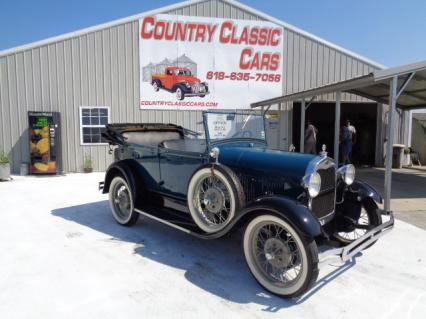1928 Ford Phaeton Touring Convertible