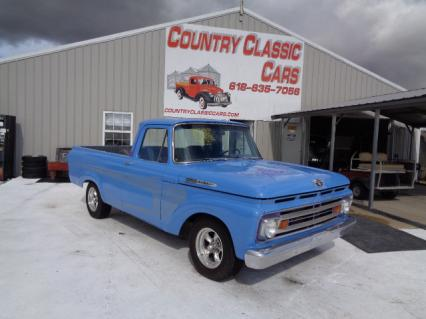 1962 Ford F100 Unibody Street Rod