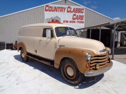 1948 Chevy 3800 Series Panel Truck