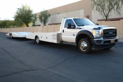 2016 Ford  F-550 Hodges Ramp Truck  Trailer