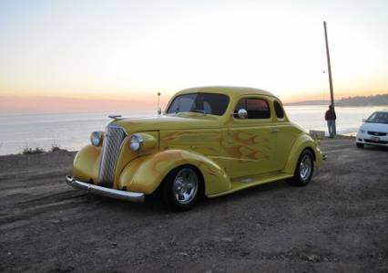 1937 REGISTERED CHEVROLET BUSINESS COUPE