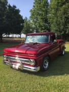 1966 Chevrolet Truck Stepside shortbed candy paint