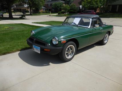 1979 MGB Convertible British Sportscar