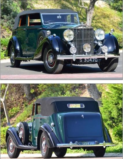 1939 Rolls-Royce Phantom