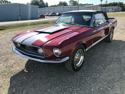 1968 Ford Mustang Convertible V8 Automatic