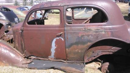 vintage car body or ratrod