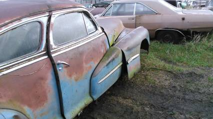 48 pontiac silver streak 2drparting out or whole