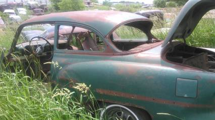 53 chevy 210 2dr sedan no title for parts or whole