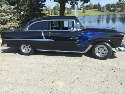1955 Chevy Double Black Bel Air