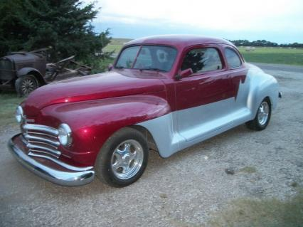 1946 Plymouth Business Coupe custom street rod