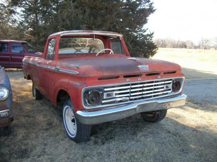 62 Ford 1/2 ton pickup unibody big back window