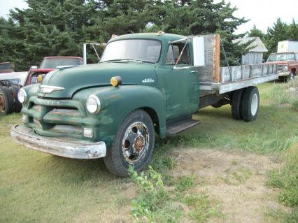 1954 chevy 1 1/2 ton farm truck bed hoist 6500