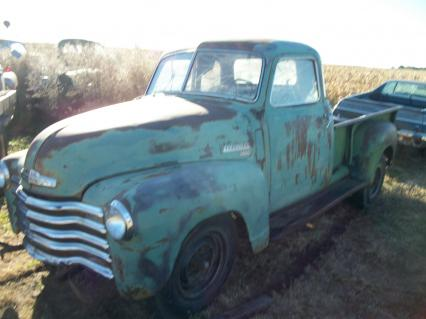1947 chevy pickup 1/2 3/4 ton 5 window
