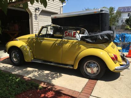 1972 VW Bettle Convertible