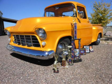 Award Winner 13 awards 15 shows 55 Chev. stepside