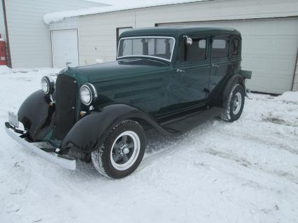 1933 Plymouth 4 Door Touring Sedan street rod