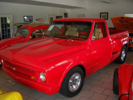 67 Chevy Pickup Step Side