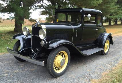 1931 Chevrolet Five Window Cpe Total original